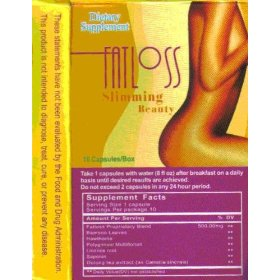 Fat loss slimming beauty (30 days supply) (english version)