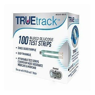 Home diagnostics truetrack test strips, 100 count