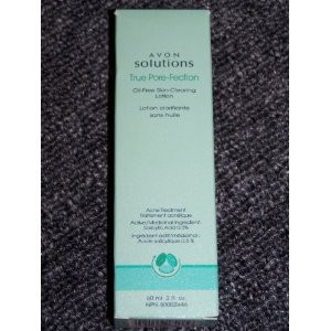 Avon solutions true porefection skin clearing lotion 2 fl oz each discontinued item- stock uop now