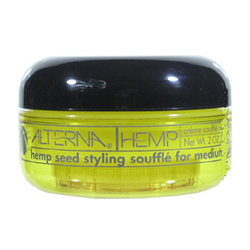 ALTERNA Hemp Seed Styling Souffle for Flexible Medium Hold Prevents Dryness & Breakage 2oz/50g