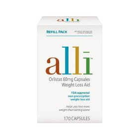 Alli 170 count refill pack