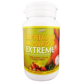 African mango extreme - all natural fat-burning, appetite suppressant - irvingia gabonensis weight loss diet pill formula
