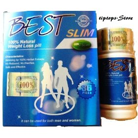 Best slim 100% natural weight loss (36 pills)