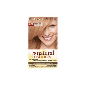 Clairol natural instincts color, 07r saharan rose (pack of 3)