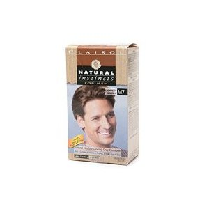 Clairol natural instincts for men, m7 lightest brown (pack of 3)