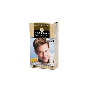 Clairol natural instincts for men, m5 dark blonde (pack of 3)