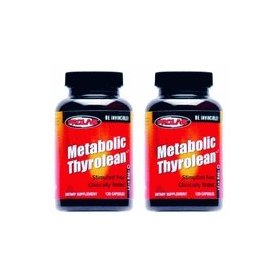 Metabolic thyrolean-prolab metabolic fat burning formula, 240ct (2 pack)