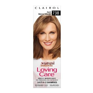 Clairol natural instincts loving care color, 738 dark natural blonde (pack of 3)