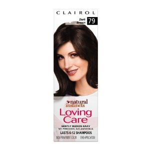 Clairol natural instincts loving care color, 079 dark brown (pack of 3)