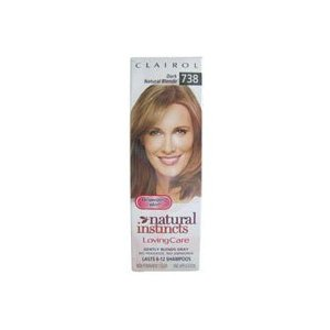 Clairol natural instincts loving care non permanent hair color, 738 dark natural blonde - 3 oz
