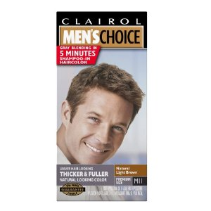 Clairol men's choice color, m11 natural light brown (pack of 3)