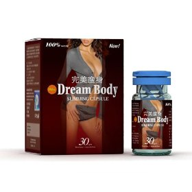 Dream body herbal slimming capsule * weight loss fat burner pills * 100% authentic * (10 bottles)