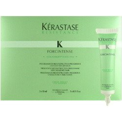 L'oreal kerastase resistance forcintense progressive reconstruction programme very weakened hair 5 x ( 15ml/5x0.51oz ) tubes