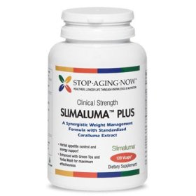 Slimaluma� 500 mg - natural appetite control with caralluma, green tea & yerba mate | 120 vcaps. made usa