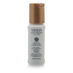 Nioxin scalp therapy for fine hair system 4, fine, chemically enhanced hair | noticeably thinning
