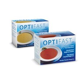 Optifast 800 chicken powder soup 1 carton (7 packets)