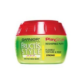 [3-pack] new garnier fructis style play style reshapable putty - 5.1 oz/142g