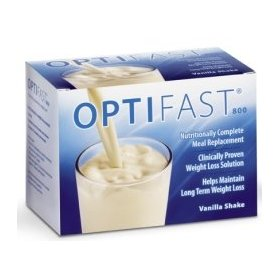Optifast 800 vanilla shake powder sachet 1 carton (7 packets)