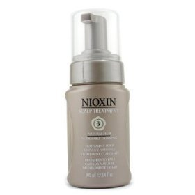 Nioxin scalp treatment system 6 noticeably thinning hair, medium/coarse hair 3.4 oz