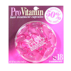 PRO VITAMIN Hair Treatment Capsules Split Ends Mender Instantly Repairs Split Ends 0.63oz/18x1ml (Quantity: 18 Treatments)