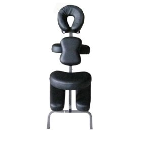 Black 4 portable massage chair tattoo spa free carry case