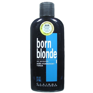CLAIROL Professional Born Blonde No Peroxide Semi-Permanent Toner 6oz/177ml