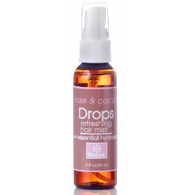 Treat drops rose & cacao refreshing hair mist