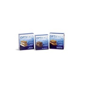 Optifast 800 peanut butter chocolate meal replacement bars 1 carton (7 bars)