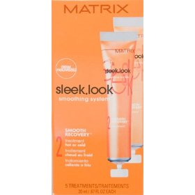 Matrix sleek look smoothing system smooth recovery 5 x 20ml/0.67oz (step 2)